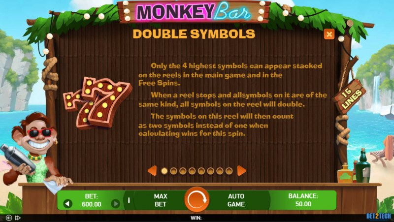 Monkey Bar :: Double Symbols