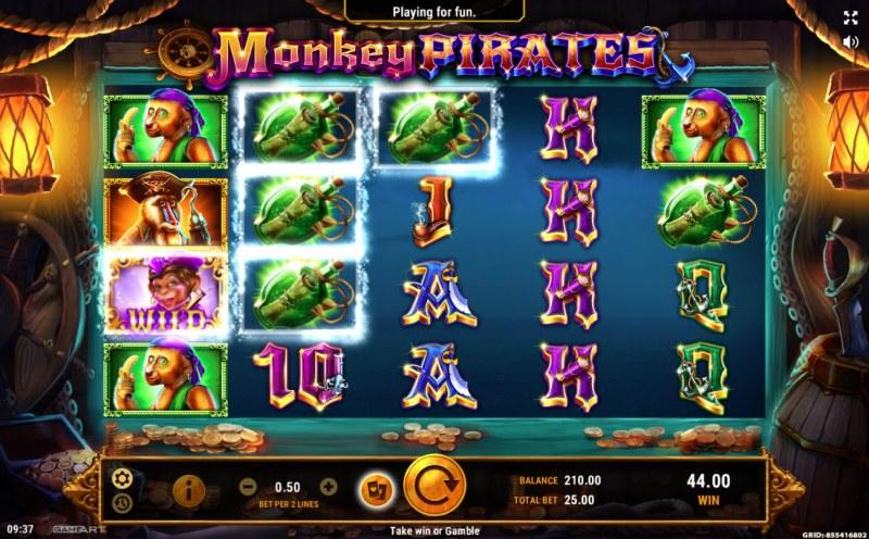 Monkey Pirates :: Three of a kind