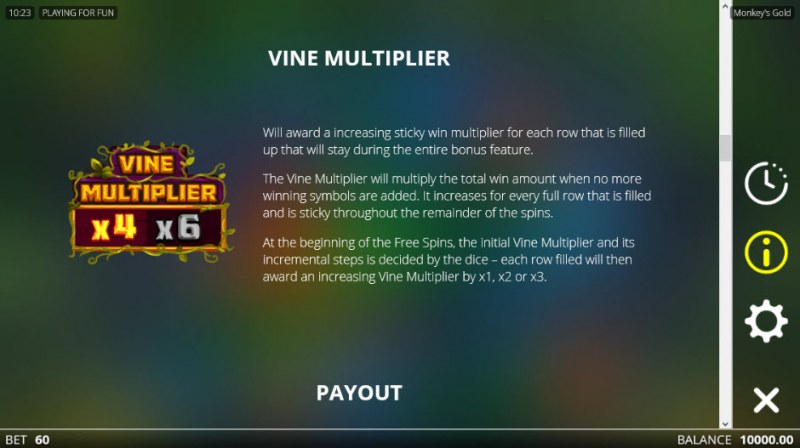Monkey's Gold :: Vine Multiplier
