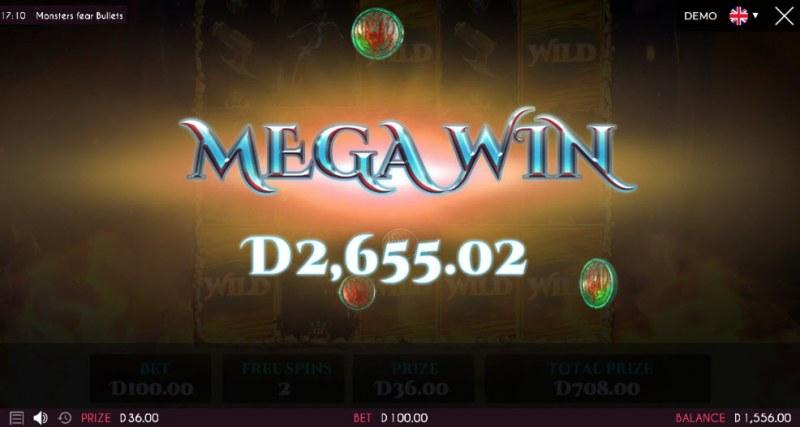 Monsters Fear Bullets :: Mega Win