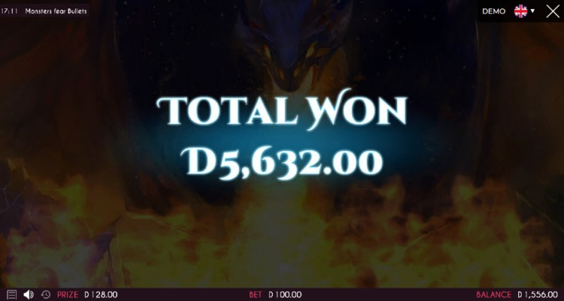 Monsters Fear Bullets :: Total free spins payout