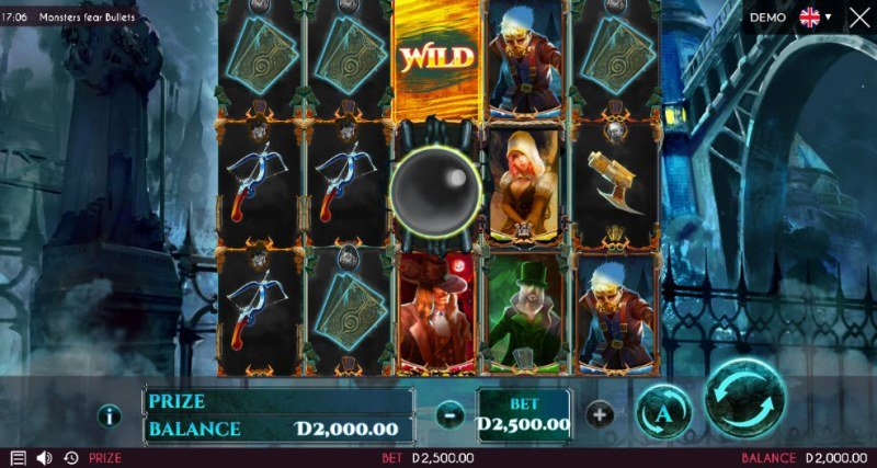 Monsters Fear Bullets :: Main Game Board