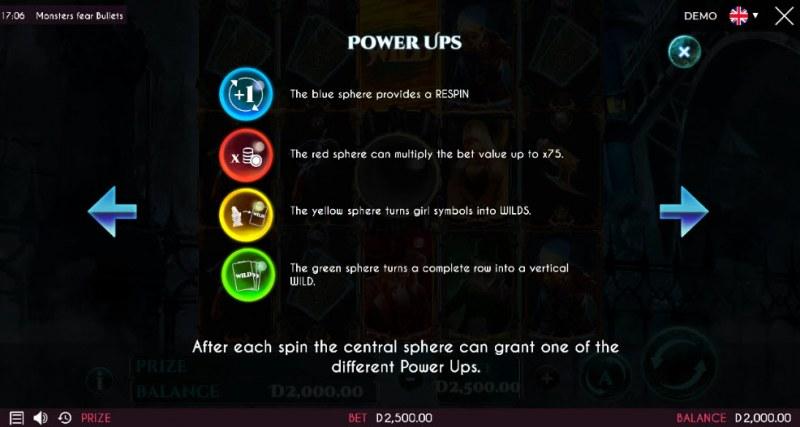 Monsters Fear Bullets :: Reel Modifiers