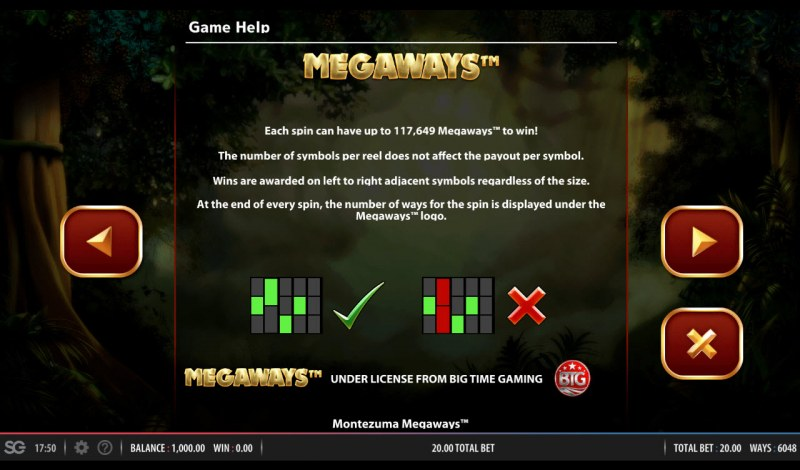 Montezuma Megaways :: Up to 117649 ways to win