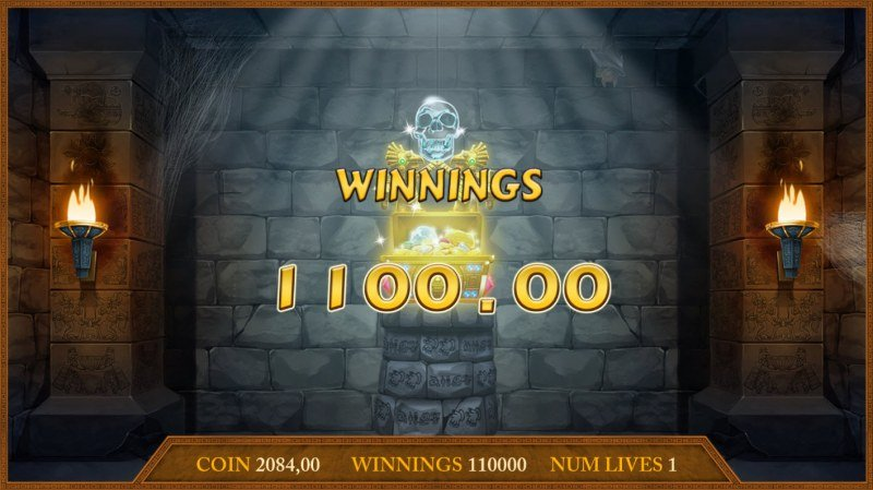 Montezuma's Treasure :: Reach the end of the bonus round to win big