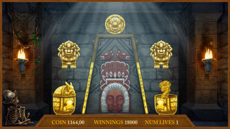 Montezuma's Treasure :: Cash prize awarded