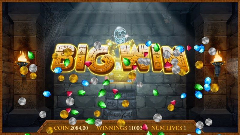 Montezuma's Treasure :: Big Win