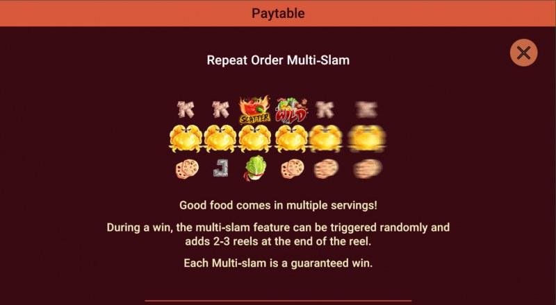 Moodie Foodie :: Repeat Order Multi-Slam