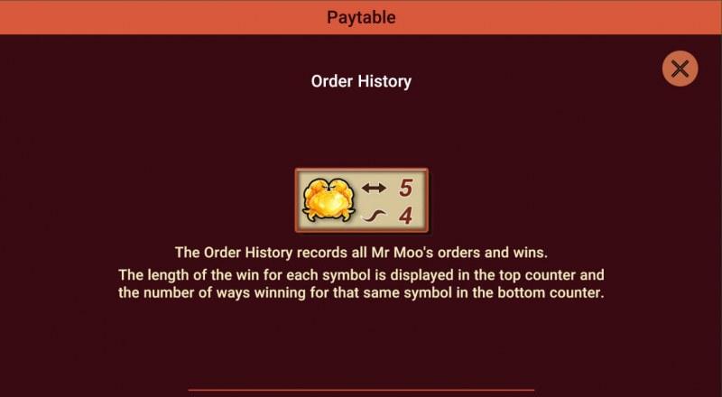 Moodie Foodie :: Order History