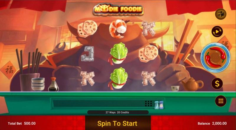 Moodie Foodie :: Base Game Screen
