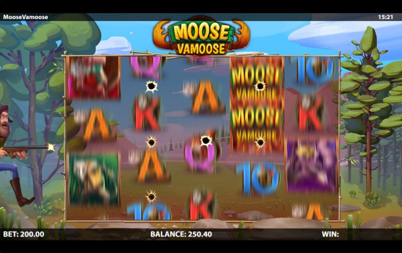 Moose Vamoose :: Rapid Fire feature activated