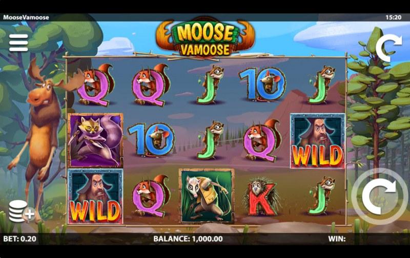 Moose Vamoose :: Main Game Board