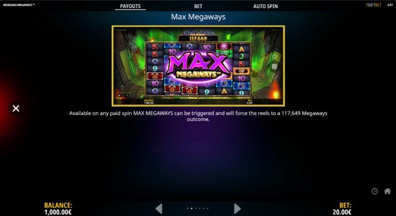 Morgana Megaways :: Max Megaways