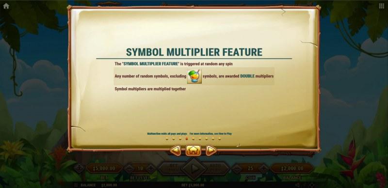 Mount Mazuma :: Symbol Multiplier Feature