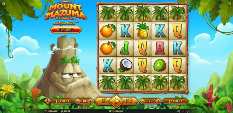 Mount Mazuma :: Main Game Board