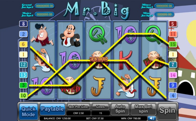 Mr. Big :: Multiple winning combinations