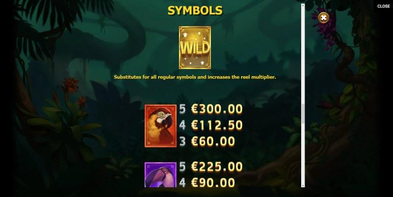 Multifly! :: Wild Symbols Rules