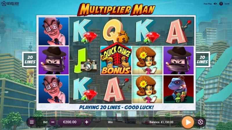 Multiplier Man :: Main Game Board