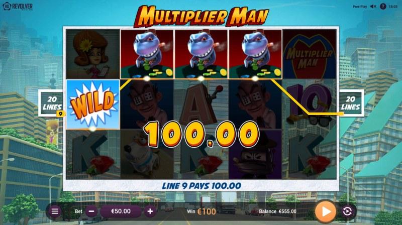 Multiplier Man :: Four of a kind