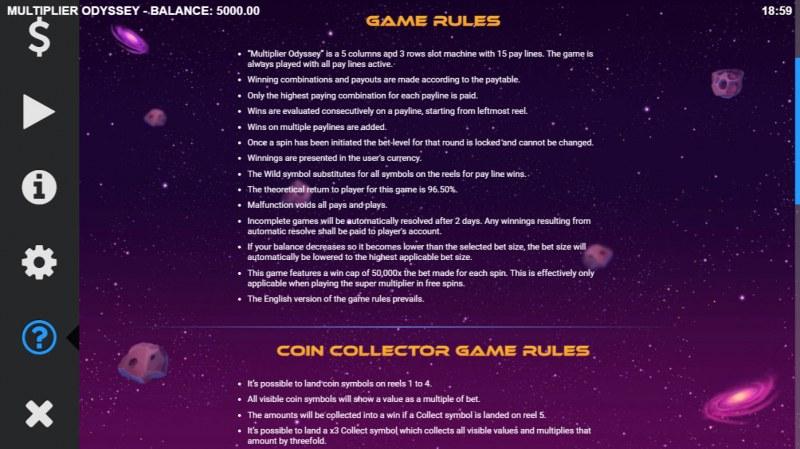 Multiplier Odyssey :: General Game Rules
