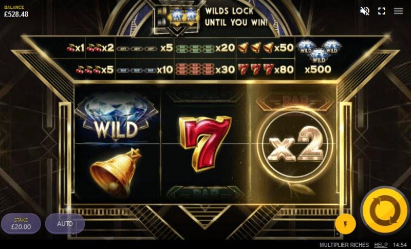 Multiplier Riches :: X2 multiplier