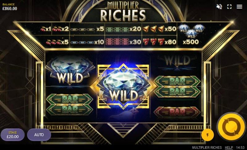 Multiplier Riches :: Sticky wild