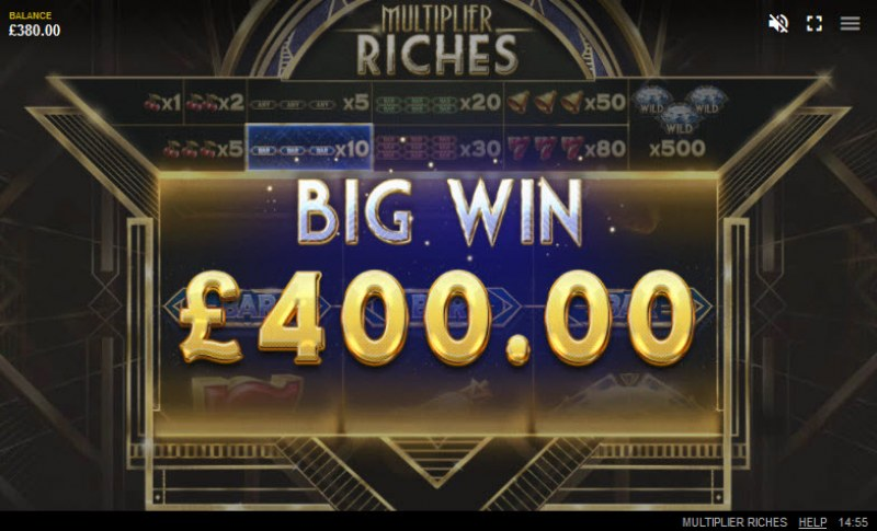 Multiplier Riches :: Big Win