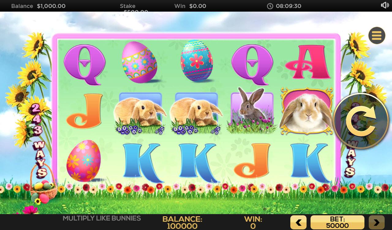 Multiply Like Bunnies :: Main Game Board