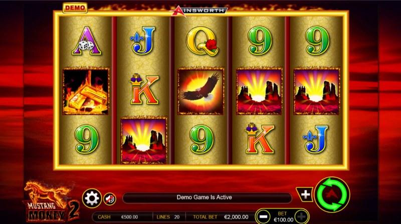 Mustang Money 2 :: Main Game Board