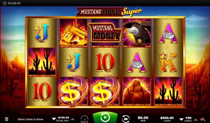 Mustang Money Super :: Main Game Board