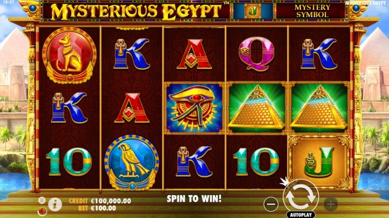 Mysterious Egypt :: Main Game Board