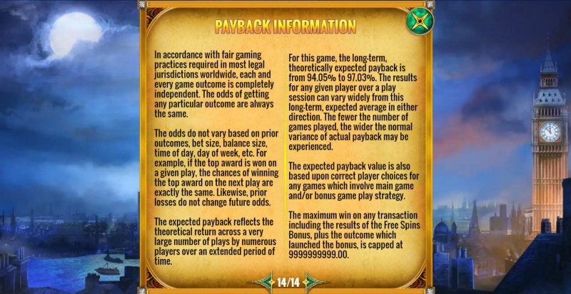 Mystery Express :: General Game Rules