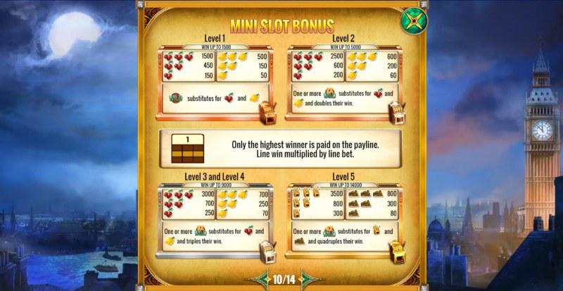 Mystery Express :: Mini Slot Bonus
