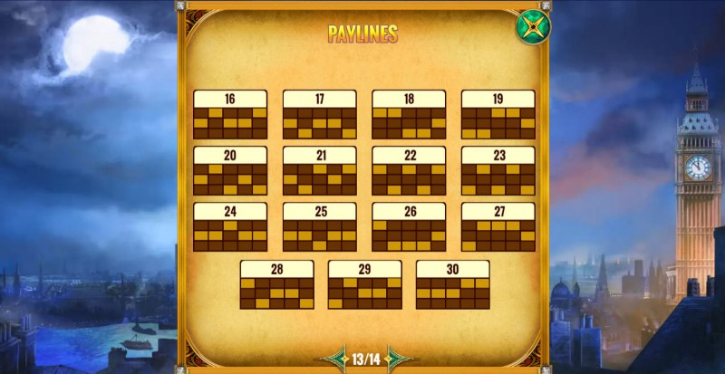 Mystery Express :: Paylines 16-30