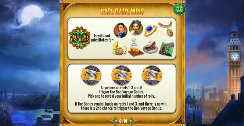 Mystery Express :: Wild and Scatter Rules