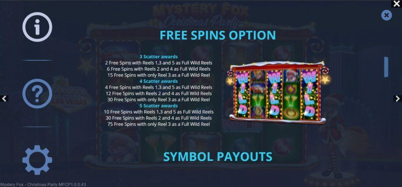 Mystery Fox Christmas Party :: Free Spin Feature Rules