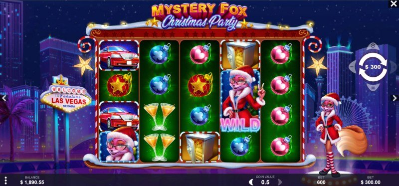 Mystery Fox Christmas Party :: Main Game Board