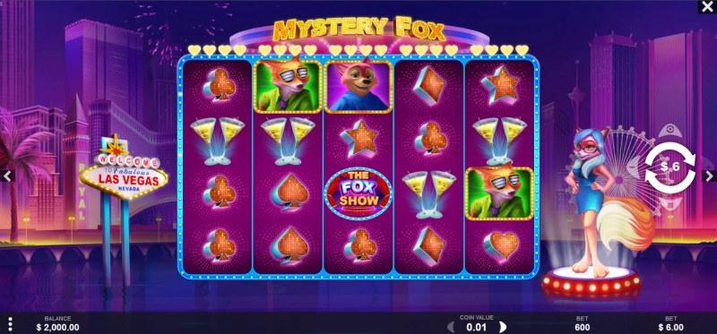 Mystery Fox :: Main Game Board