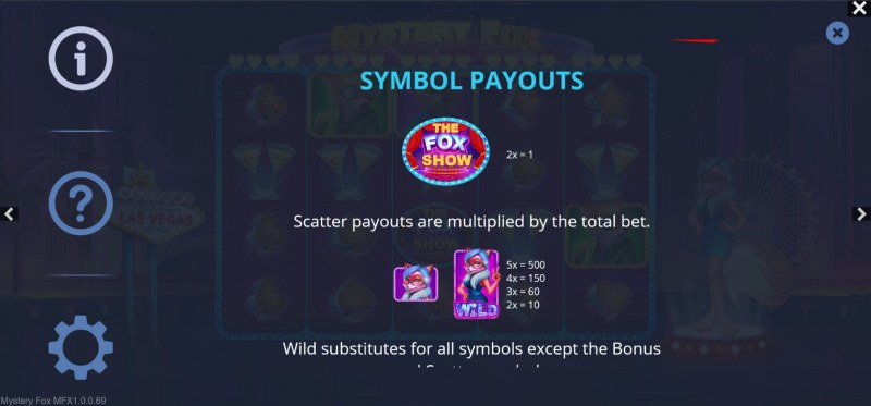 Mystery Fox :: Wild and Scatter Rules