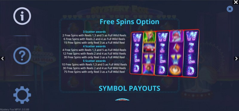 Mystery Fox :: Free Spin Feature Rules