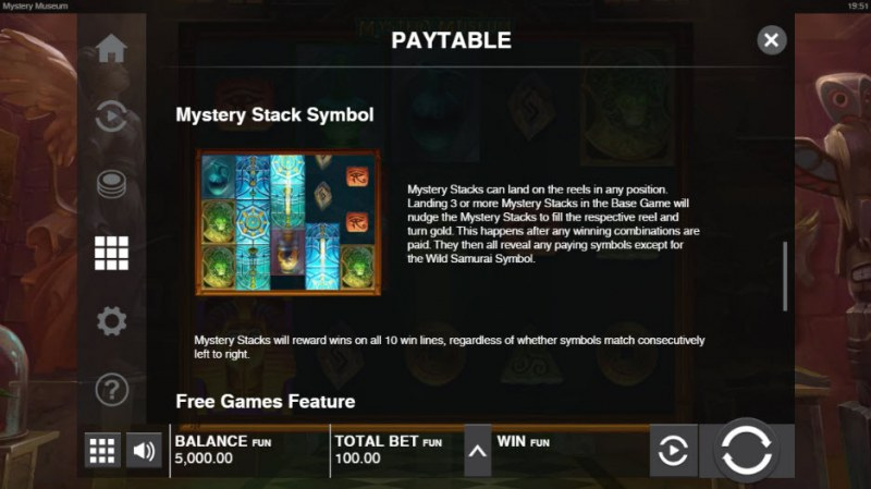 Mystery Museum :: Mystery Stack Symbol
