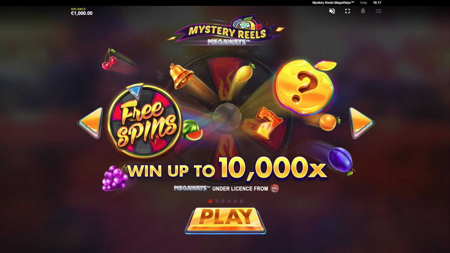 Mystery Reels Megaways :: Win Up To 10000x
