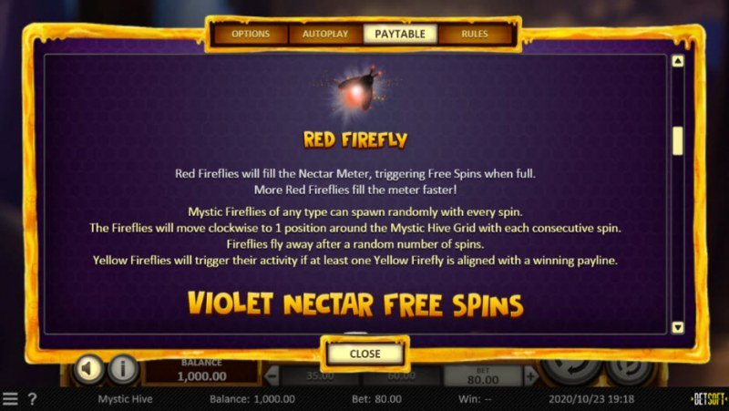 Mystic Hive :: Red Firefly