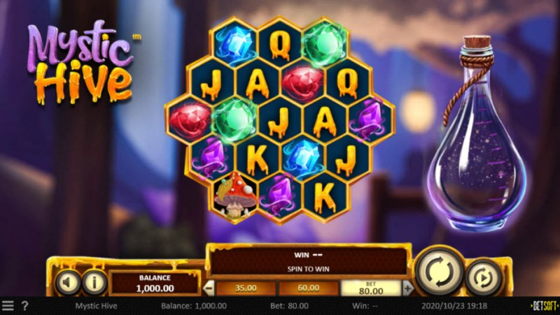 Mystic Hive :: Main Game Board