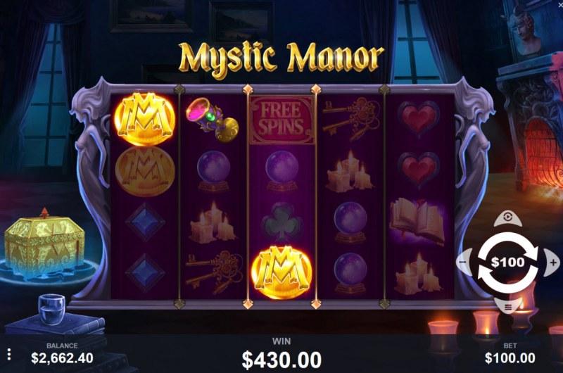Mystic Manor :: Three of a kind