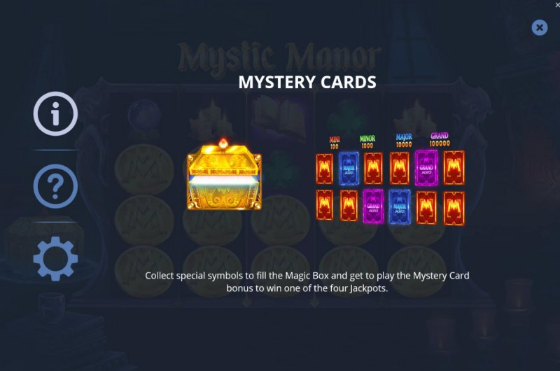 Mystic Manor :: Mystery Cards