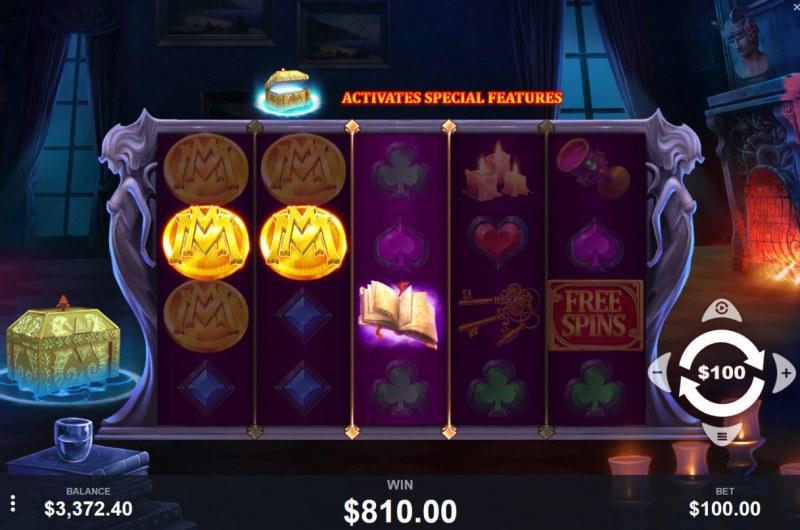 Mystic Manor :: Multiple winning paylines