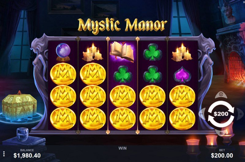 Mystic Manor :: Main Game Board