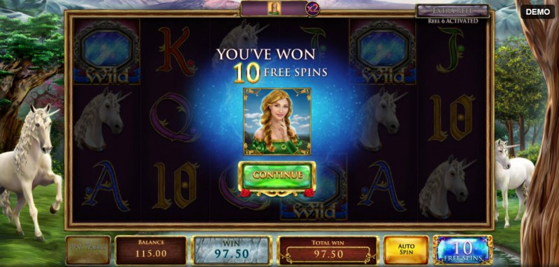 Mystic Mirror :: 10 Free Spins Awarded