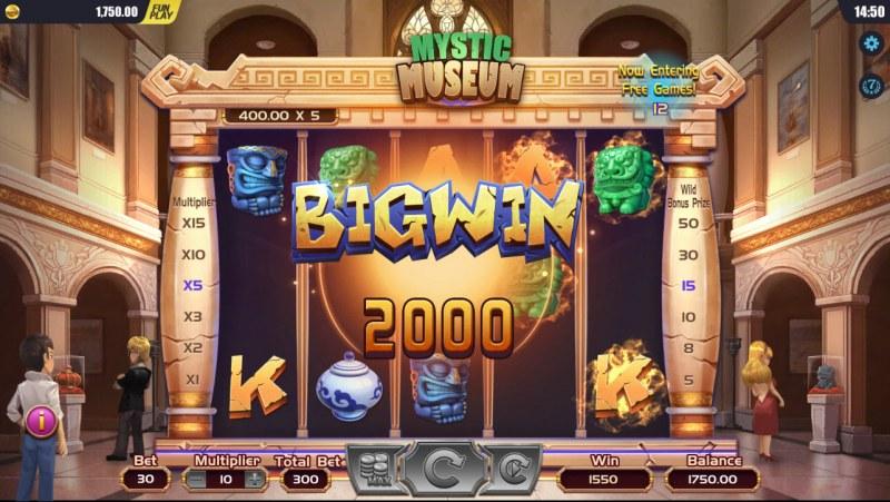 Mystic Museum :: Big Win